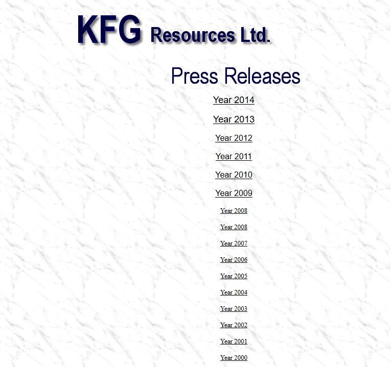 KFG -- website