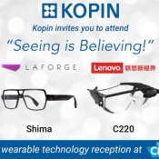 "Kopin: The Best Small Cap Stock To Ride A Wave of ""Wearable Technology"" (AR and VR)!"